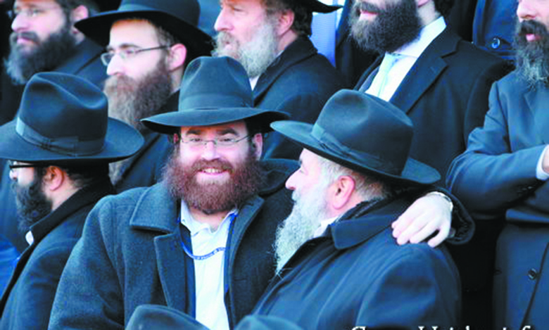 Rabbi Alter Goldstein and Rabbi Yisroel Goldstein