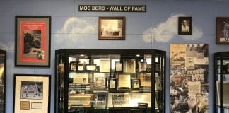 Moe Berg Wall of Fame