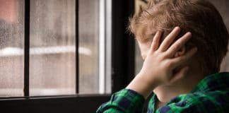 child experiencing difficult, traumatic event