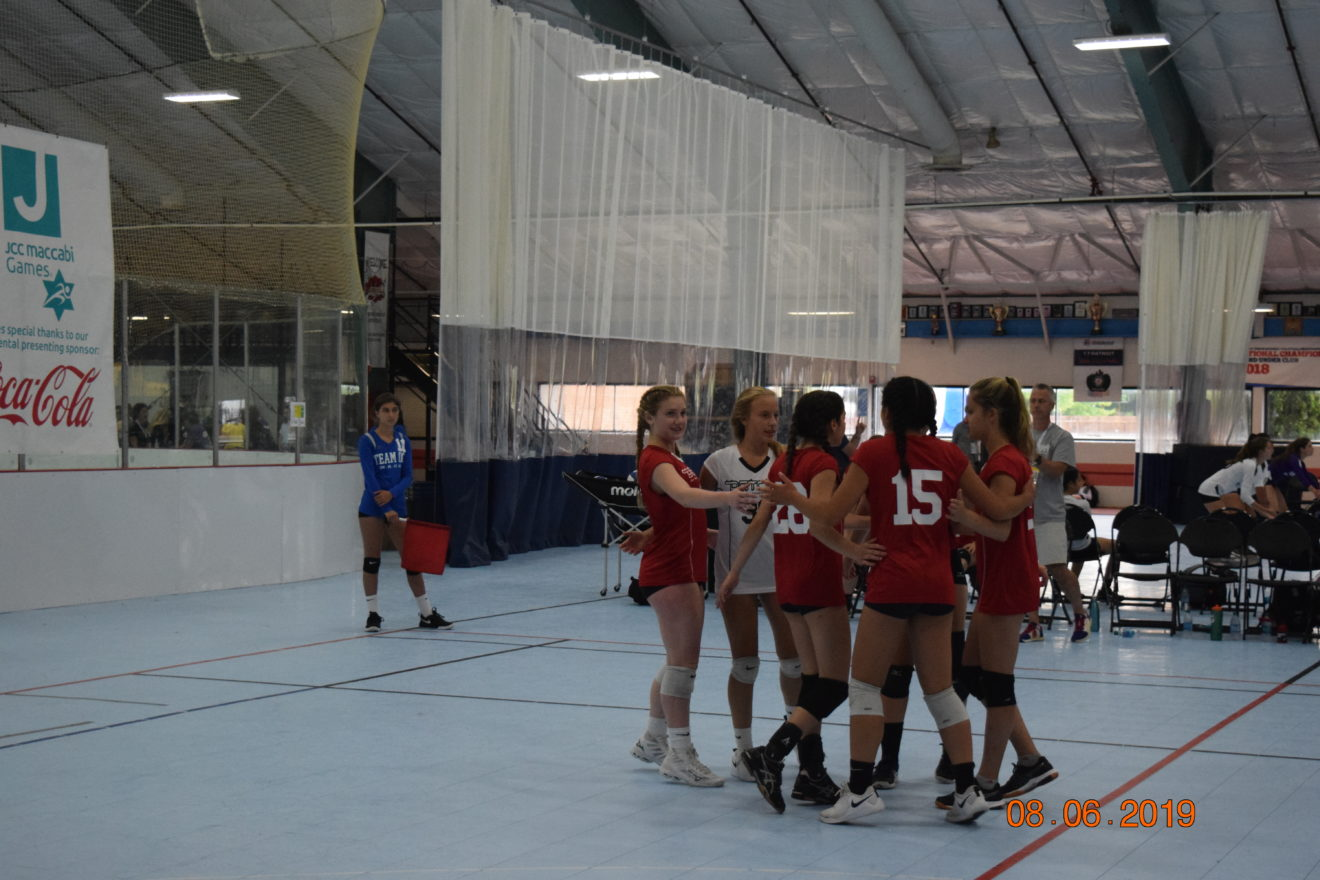 JCC Maccabi volleyball