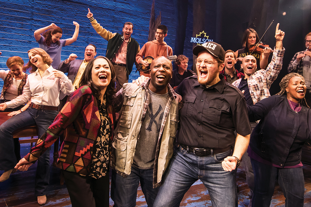Come from Away musical number