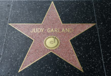 HOLLYWOOD, CA - DECEMBER 06: Judy Garland star on the Hollywood Walk of Fame in Hollywood, California on Dec. 6, 2016.