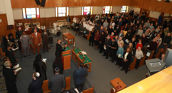 Rabbi Capers Funnye visited multiple synagogues and groups in Metro Detroit to discuss African-Jewish relations and more on MLK Day