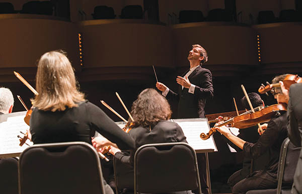 Conductor Yaniv Segal performs in Ann Arbor and Detroit