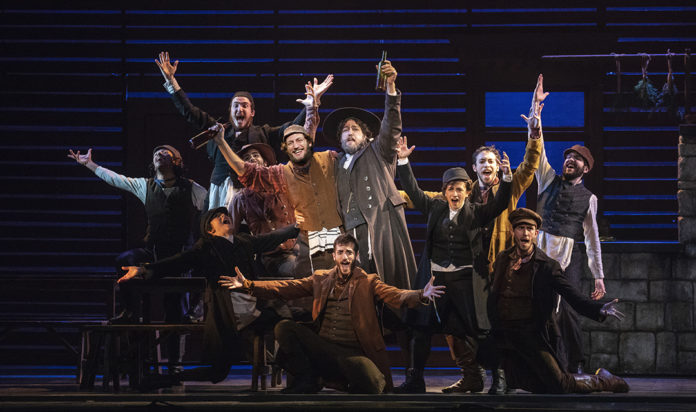 Yehezkel Lazarov stars at Tevye in the revival of Fiddler on the Roof.