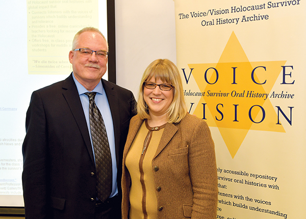 """Detroit Jewish News Foundation exhibit, """"The Holocaust Unfolds: Reports from the Detroit Jewish Chronicle and Jewish News"""" at U of Michigan-Dearborn"""