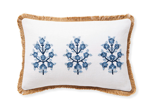 Morningside Pillow Cover from Serenaandlily.com.
