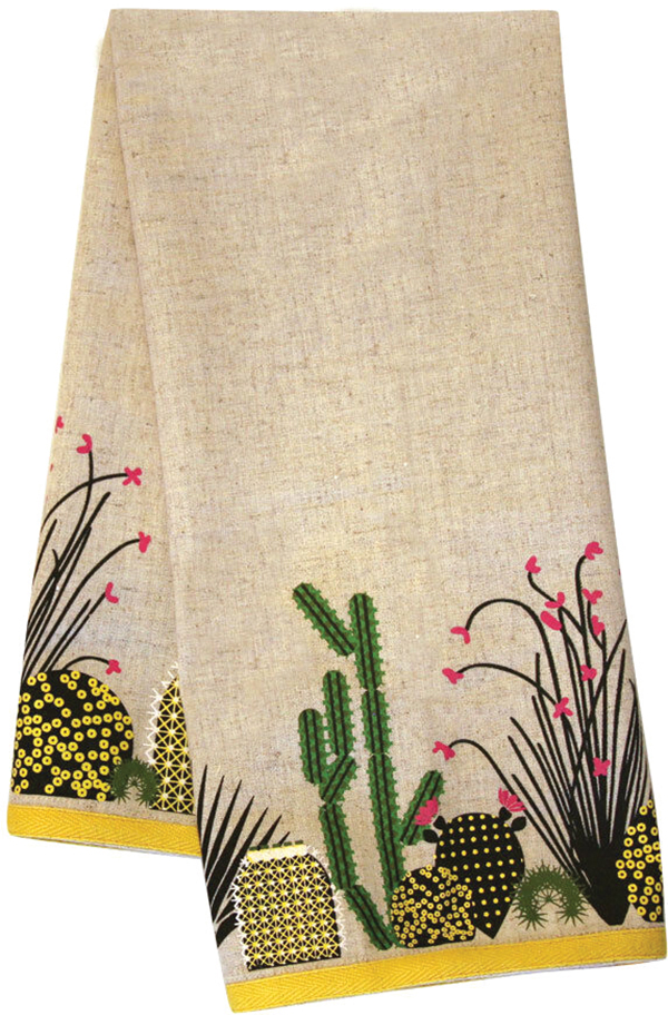 Cacti Tea Towel from City Bird
