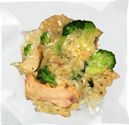 Mindful Meals Grilled chicken and broccoli over rice