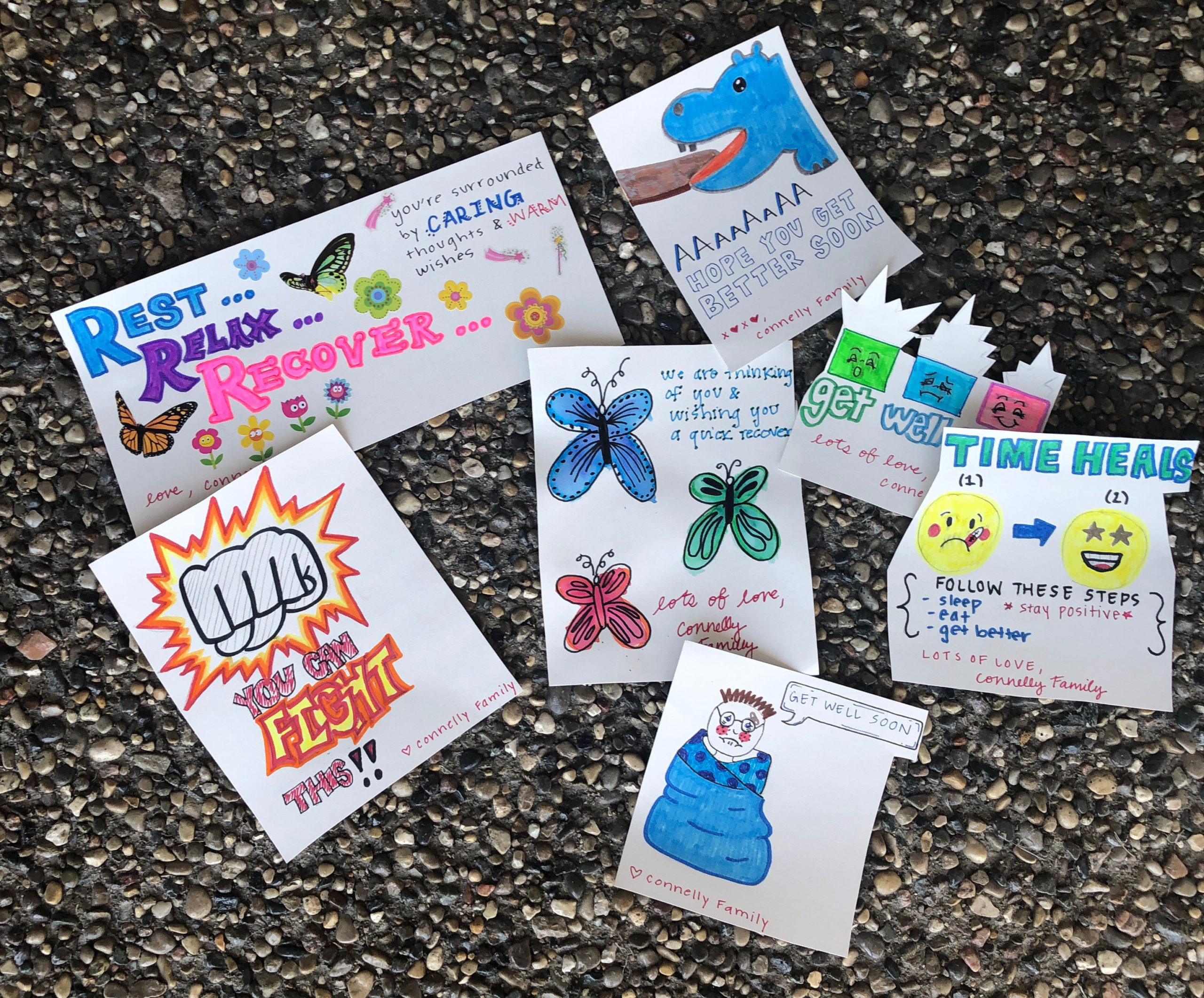 Caring Cards for Corona