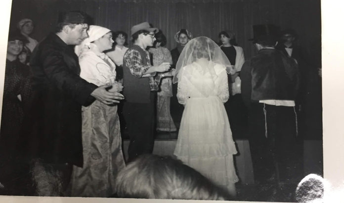 Scene from the 1966 Adat Shalom production of