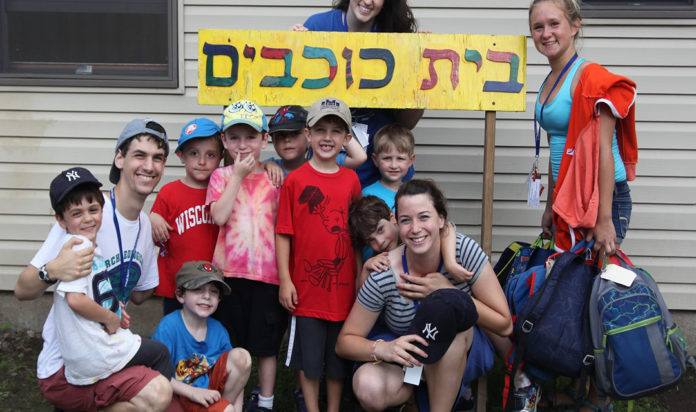 Campers at Ramah Day Camp in Nyack, N.Y., participating in a pilot Hebrew immersion program in 2013.