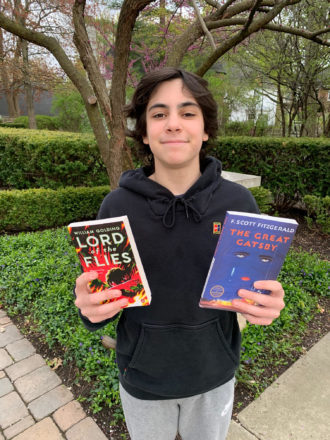 Cooper Schoenberg, also a member of the Jewish Fund Teen Board, is spearheading a book drive to benefit Brilliant Detroit, which offers a new approach to kindergarten readiness and a unique delivery model for early childhood development in Detroit.
