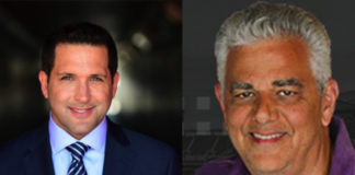 Adam Schefter (left) and Stoney (right)