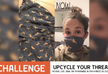 One challenge in Expedition Nai, a global virtual color war for Jewish young adults, was to take a piece of old clothing and turn it into something cool.