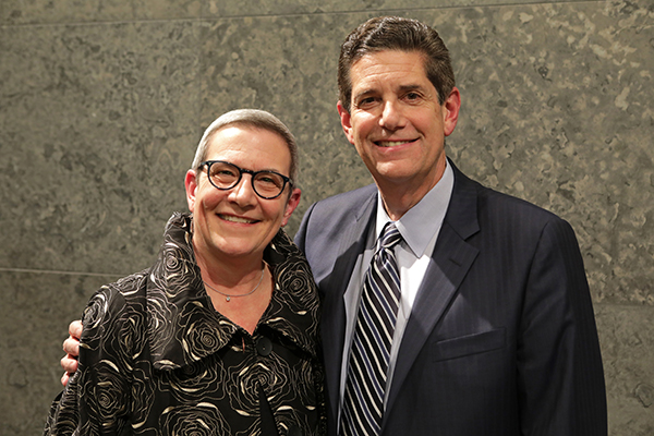 DSO President and CEO Anne Parsons and Chairman Mark Davidoff
