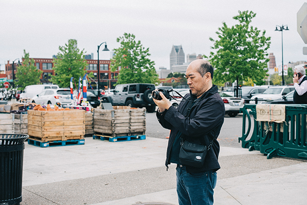 Eastern Market was the backdrop for a Kadima photography class.