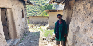 Aba Minas is leader of the Jambaria gedam, one of 15 hidden Jewish religious centers in Ethiopia's North Shewa region.