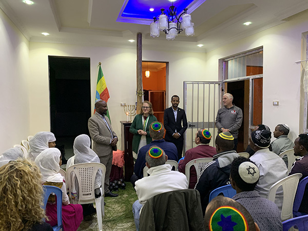 A group of Ethiopia's Hidden Jews finds aid and support to improve their lives and practice Judaism.