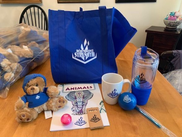 Holocaust gift bags