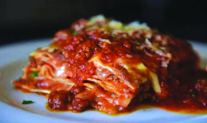 Giovanni's features signature dishes like the 17 layer lasagna, Veal Saltimbocca, Scampi Giovanni and more.