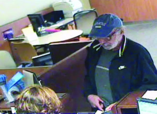 The Santa Rosa police department released this photo of a robbery suspect