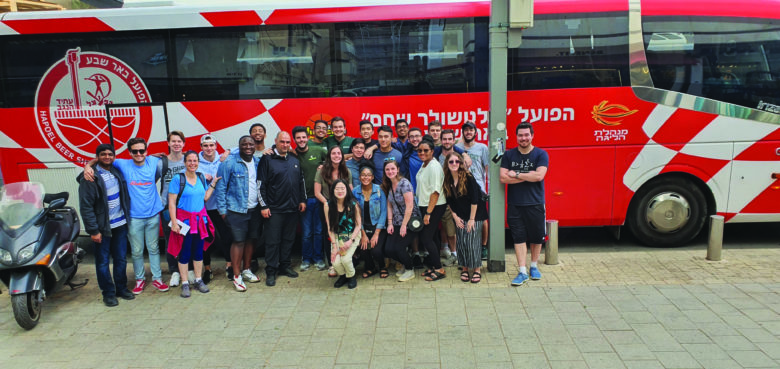 Serling Institute students and faculty in Israel.