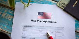 Application for H1B visa in United State for job