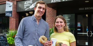 Joe Penn and Devon Malloy of Tov Bagel