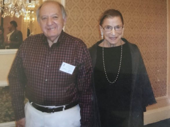 Robert Sedler and RBG