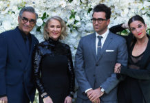 """Schitt's Creek"" cast at a pre-Emmys party"