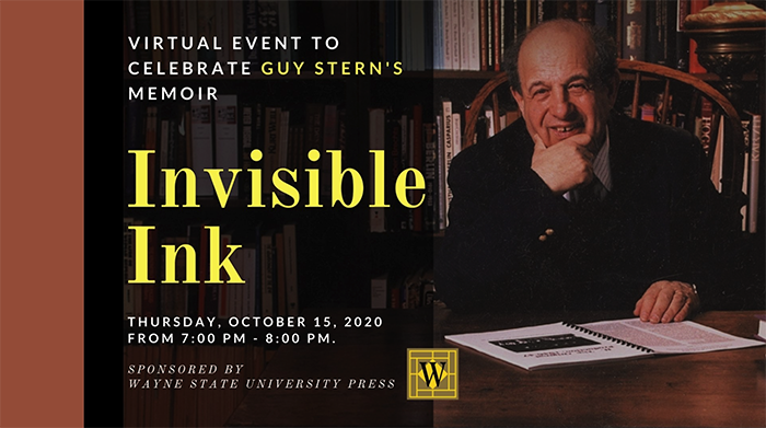 Guy Stern Promotional Graphic