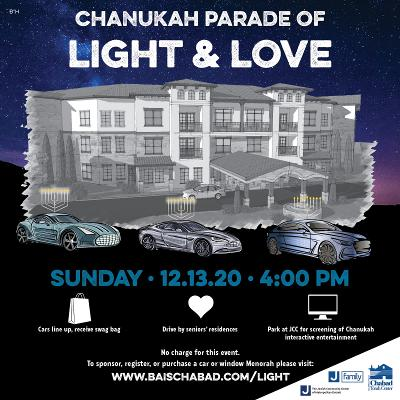 Light and Love flyer