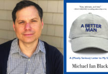 Michael Ian Black and his latest book