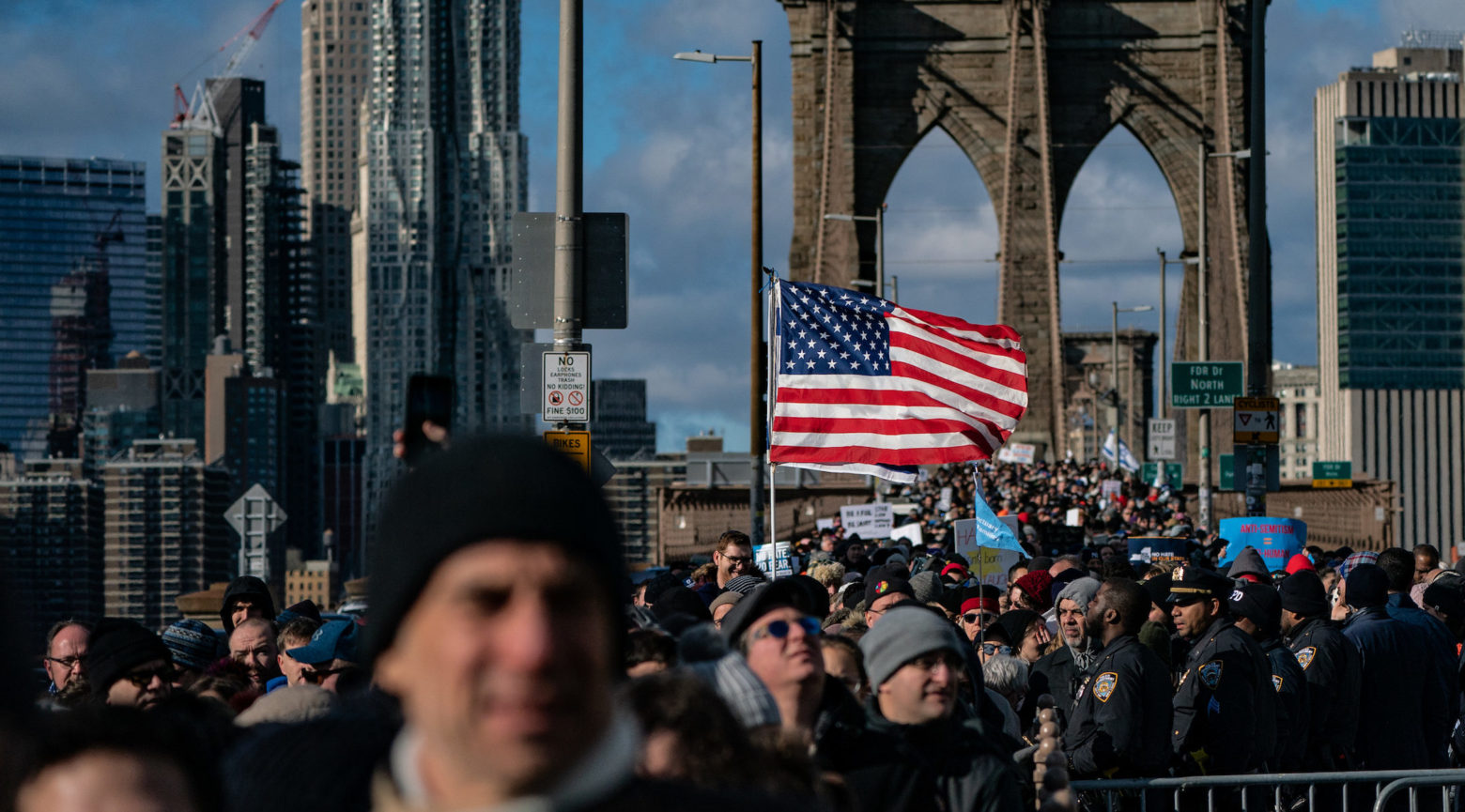 Jewish Solidarity March Held In Response To Rise In Anti-Semitism