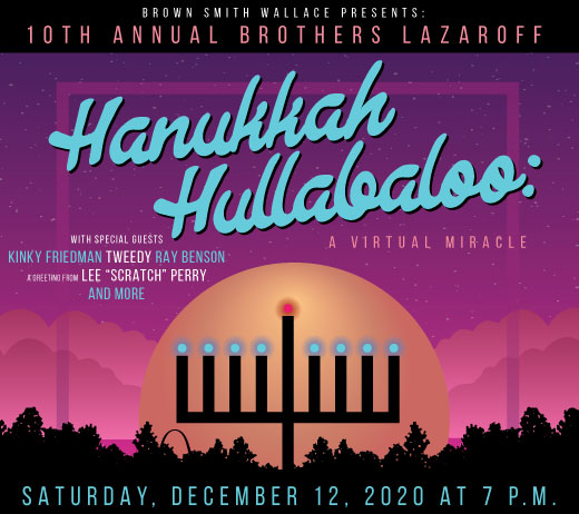 Hanukkah Hullabaloo Graphic