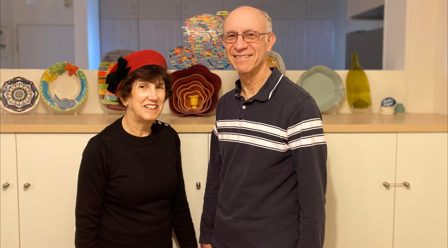 Naomi and Stanley Goldis, originally from Bala Cynwyd, Pa., immigrated to Israel on Oct. 21, 2020 and live in Beit Shemesh.