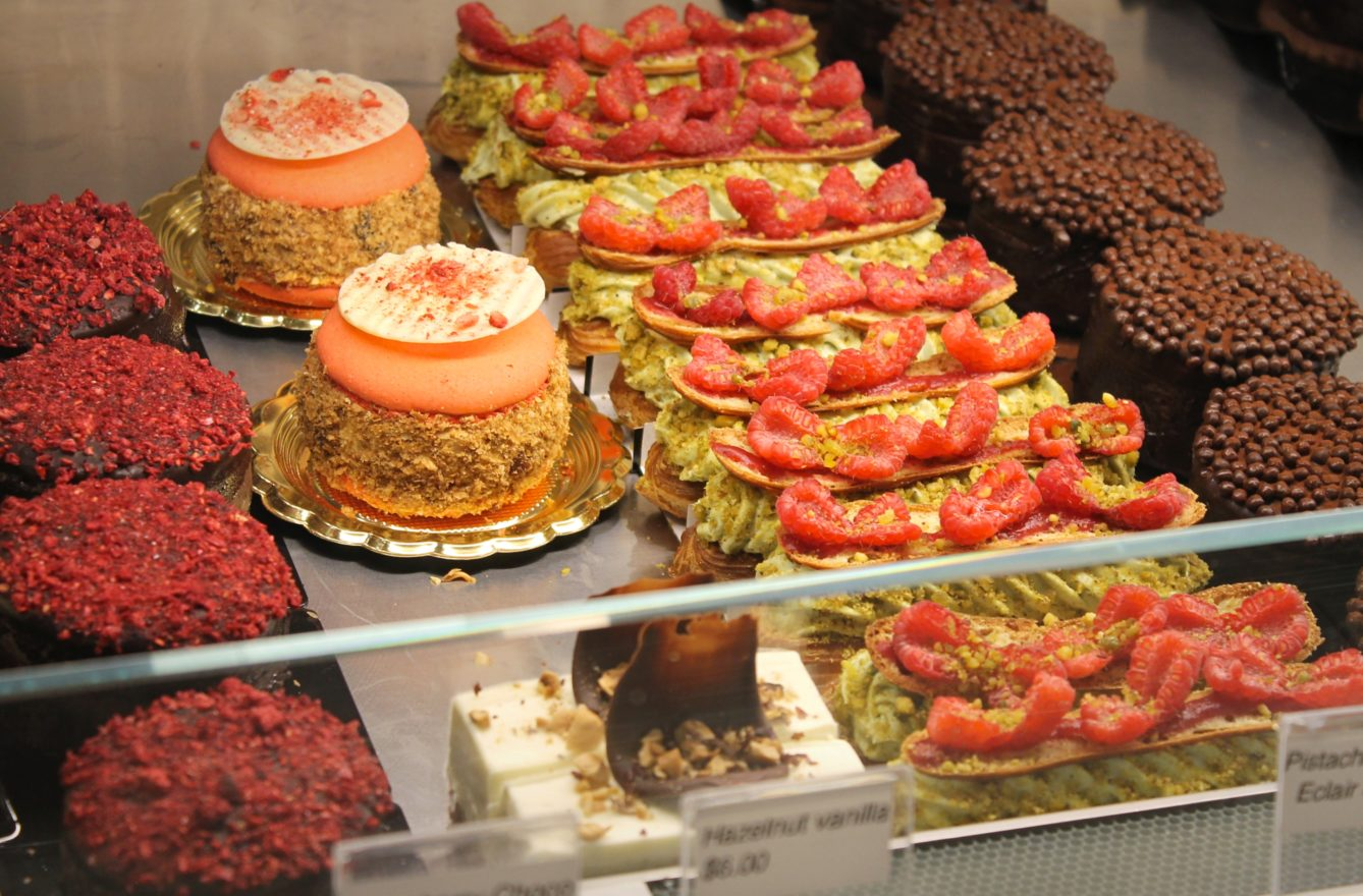 The confections at Cannelle