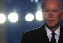 Joe Biden spoke during a memorial service for American victims of the COVID-19 pandemic on Jan. 19, 2021, the eve of his inauguration as president.