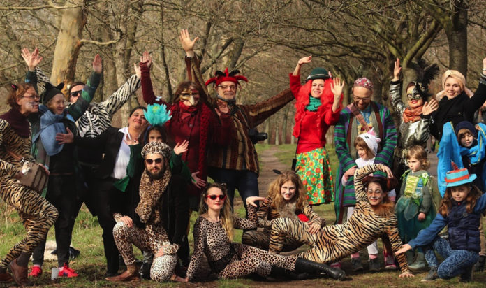 A 2020 Purim event for Russian-speaking Jews in Berlin was organized by local community members with funding from the new Limmud Labs program.
