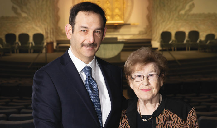 Lola Jerome and her son Allan