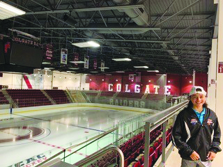 Biederman at Colgate