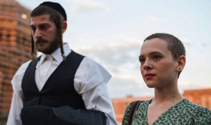 Amit Rahav and Shira Haas in Unorthodox