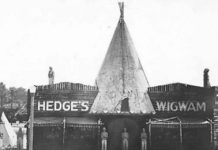 Hedge's Wigwam used to be on Woodward and 10 Mile in Pleasant Ridge.