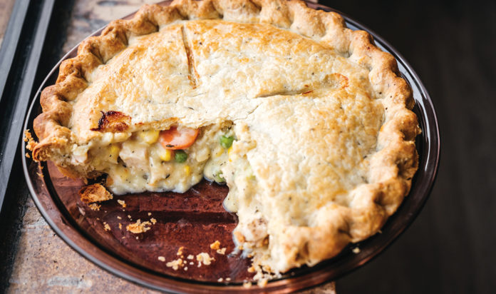 A pot pie from Great Lakes Pot Pie.
