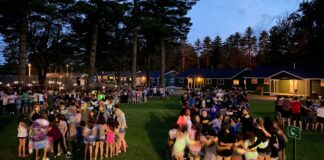 Camp Modin in Maine was one of the few Jewish camps to open last year. It plans to follow the same playbook this year.