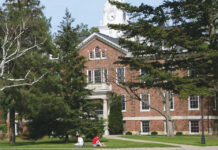 Albion College campus