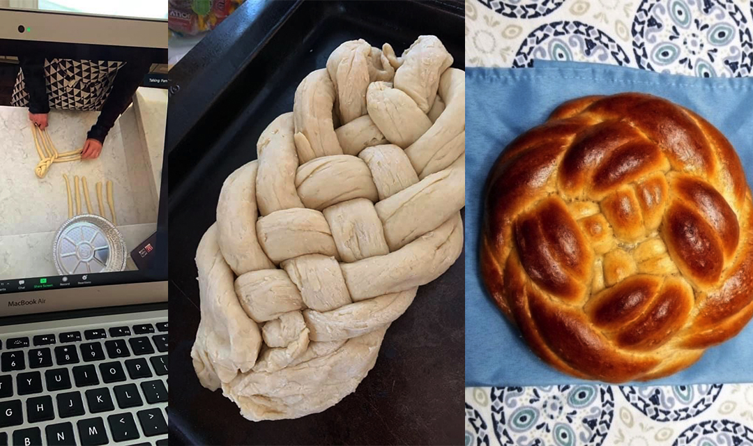 Challah Making Process