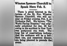 Article about Winston Churchill