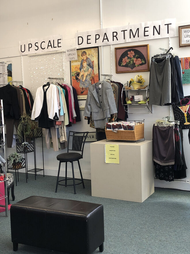 The upscale department